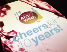 10th Annual Art of Wine Programs