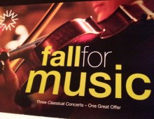 """Fall for Music"" Classical Mailer"