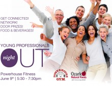 Young Professionals Night Out Invite