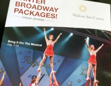 Walton Arts Center Winter Broadway Mailer