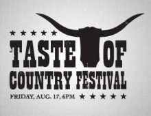 Taste of Country Festival Logo