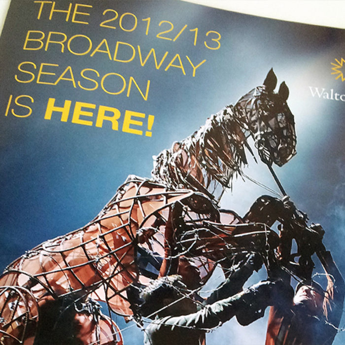 2012 Broadway Renewals Mailer