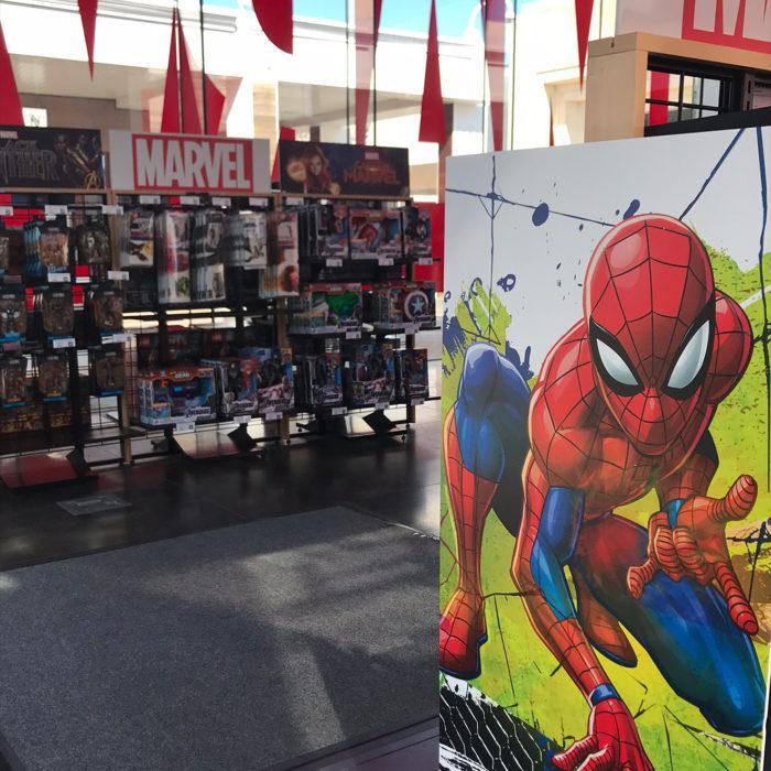 Marvel Pop-Up Shops
