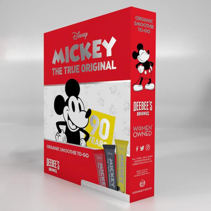 Deebee's Organic Disney Packaging